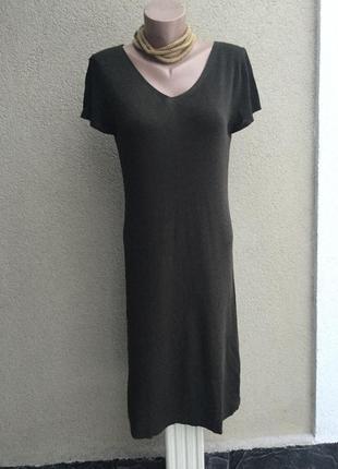 Новое трикотажное платье,короткий рукав, с открытой спиной,сарафан,вискоза