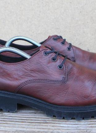 Туфли vagabond кожа швеция 39р ботинки женские