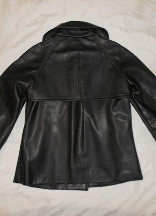 Joos стильная куртка из искусственной кожи, р.36, s-ка4