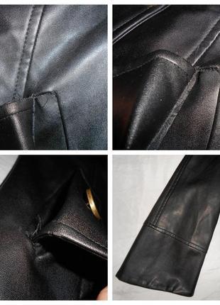 Joos стильная куртка из искусственной кожи, р.36, s-ка5