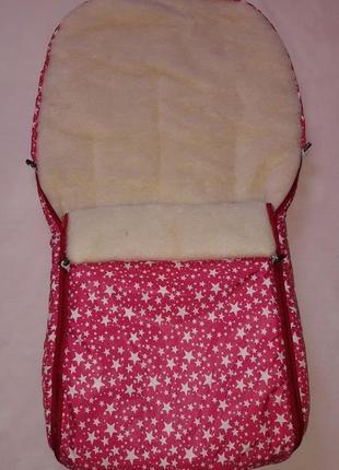 Зимний конверт в коляску или санки