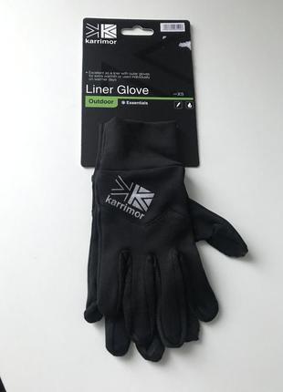 Чёрные перчатки karrimor размер small