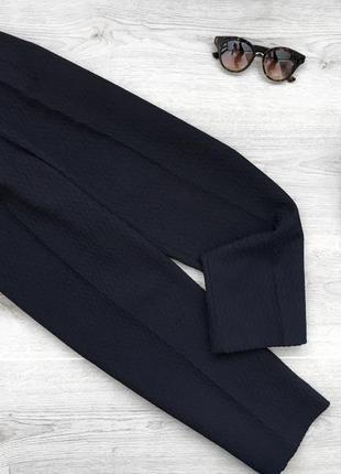 Крутые укророченые широкие фактурные брюки/штаны goldenpoint