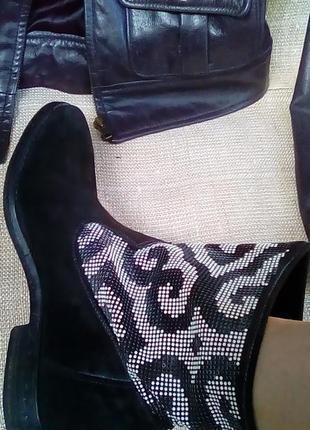 Fru.it ботинки 39 замша