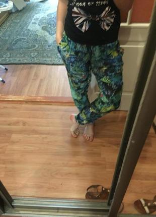 Крутые легкие , летние штаны berhska
