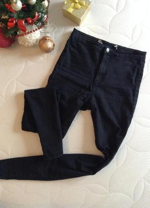 Джинсы лосины черные джинсы