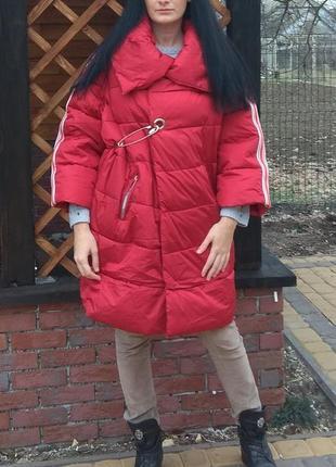 Стильная куртка оверсайз италия