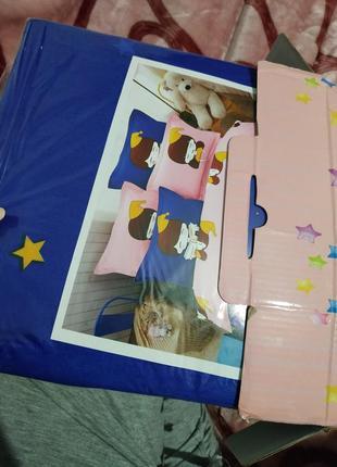 Акция!!!детское постельный комплект 😍3