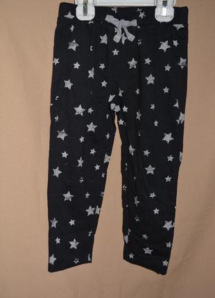 Спортивные штаны для девочки размер 98-104 action
