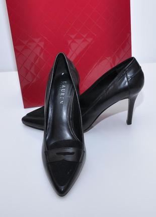 Кожаные туфли ralph lauren р. 37 оригинал
