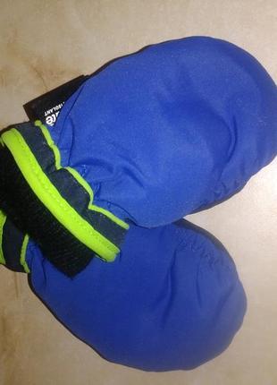 Термо рукавицы краги варежки некст 1-2года