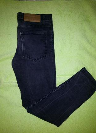 Крутые плотные джинсы скинни с высокой посадкой