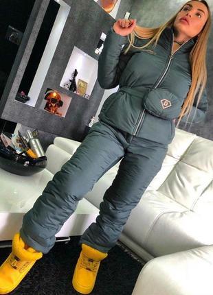 Модный супер-теплый женский лыжный костюм dora 4 цвета