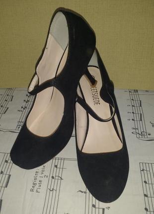 Шикарные элегантные  бархатистые туфли sweet suede