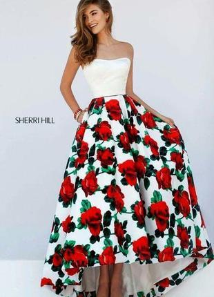 Вечернее выпускное платье sherri hill