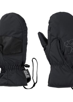 Новые варежки easy entry mitten kids, от бренда jack wolfskin. рост- 104см.