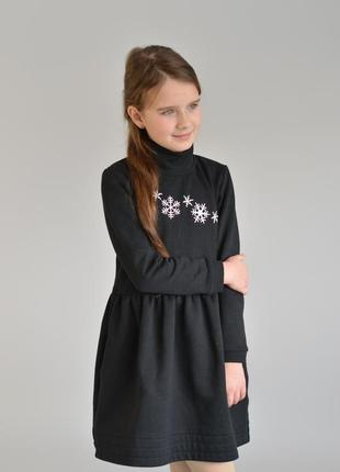 Платье снежинка2