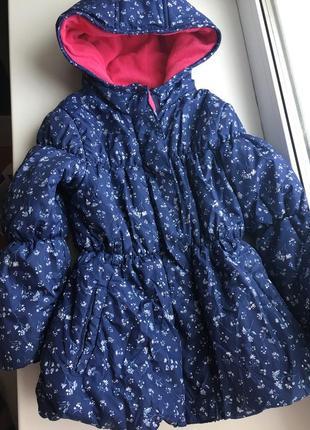 Демисезонная утепленная куртка 4-5 годиков