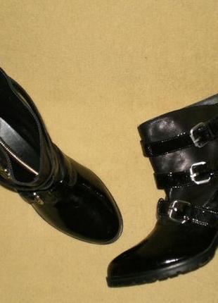 Кожаные ботинки ботильены navyboot (навибут) 40р
