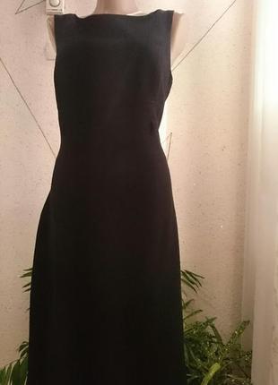 Теплое плотное платье футляр