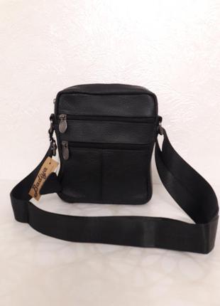 Мужская сумочка натуральная кожа