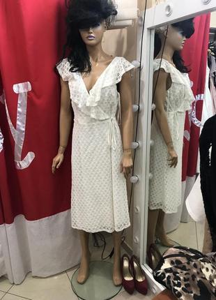 Ліквідація товару до 29 грудня 2018 !!! мереживна сукня на запах asos