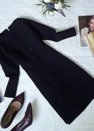 Очень стильное черное платье от say.