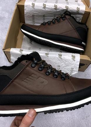 Мужские коричневые зимние кроссовки new balance 754 разные размеры в наличии