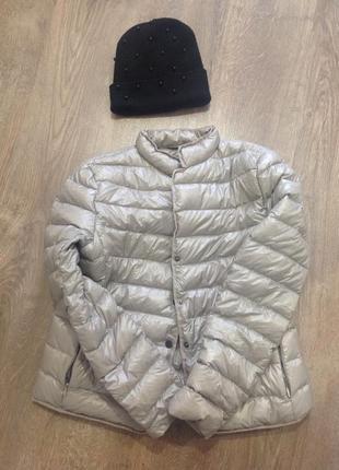 Крутая ультра легкая  куртка пуховик