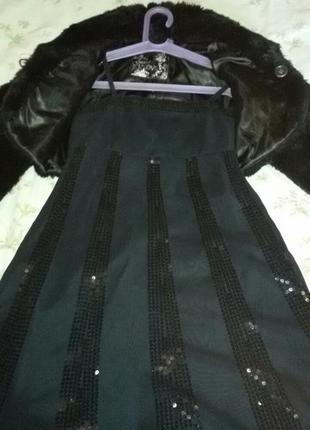 Вечернее  шикарное  платье  для  девочки с болеро