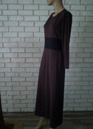 Супер платье стрейч oasis  шоколад