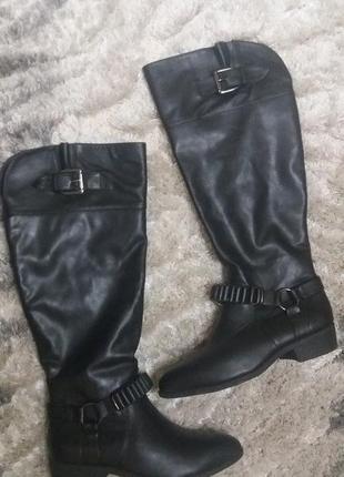 Дуже круті ботфорди,сапоги,ботинки від new look!!!еко-шкіра!!!