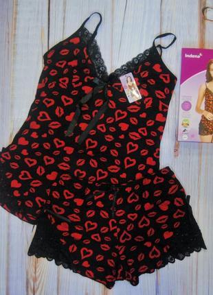 Пижамка tm indena, шорты, майка, комплект для сна