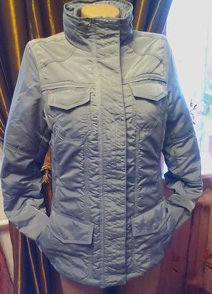 Брендовая куртка,курточка,парка,жакет,немецкого бренда 46р.наш2 фото