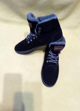 Ботинки замшевые утепленные розмір 41 quiksilver черевики замшеві