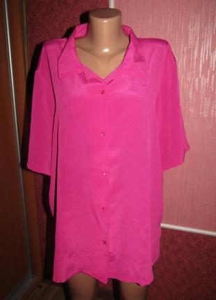Рубашка большой р-р 20-22 бренд damart