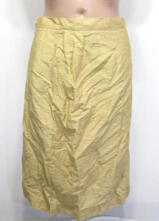 Стильная золотистая юбка италия