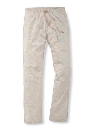 Пижамные брюки штаны tchibo, р. 36/38 евро