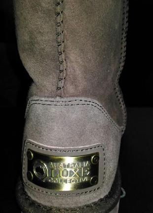 Ugg australia luxe collective cosy short sheepskin boot 10 us 412 фото