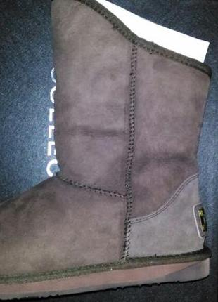 Ugg australia luxe collective cosy short sheepskin boot 10 us 413 фото