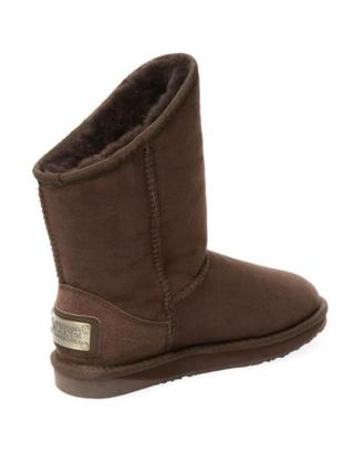 Ugg australia luxe collective cosy short sheepskin boot 10 us 414 фото