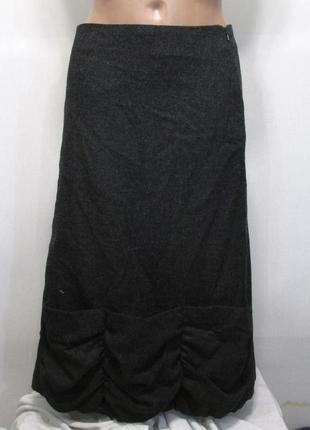 Фирменная теплая юбка шерсть