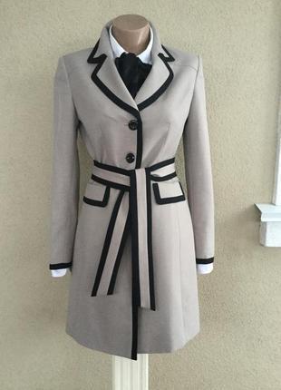 Красивый тренч,плащ,легкое пальто,удлинён.жакет,пиджак под пояс,le suit,вьетнам