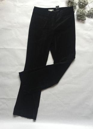 Крутые брюки велюр бархат  h&m