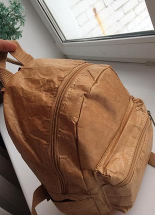 Женские рюкзаки из крафтбумаги