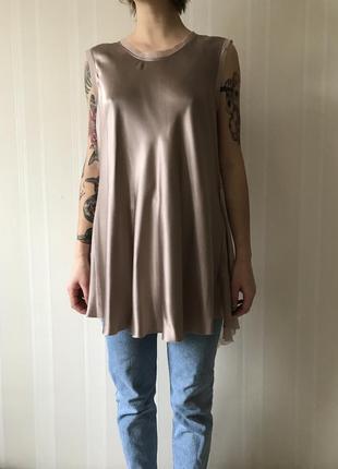 Шелковая шикарная блуза3