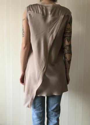Шелковая шикарная блуза4