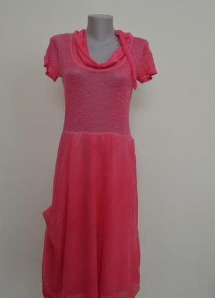 Эксклюзивное бутиковое итальянское яркое платье