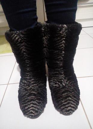 Сапоги adidas original унты угги с меха и кожы новая вещь