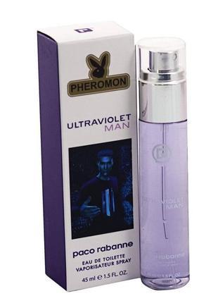 Парфюм 45мл с феромонами ultraviolet, премиум качество! стойкость!